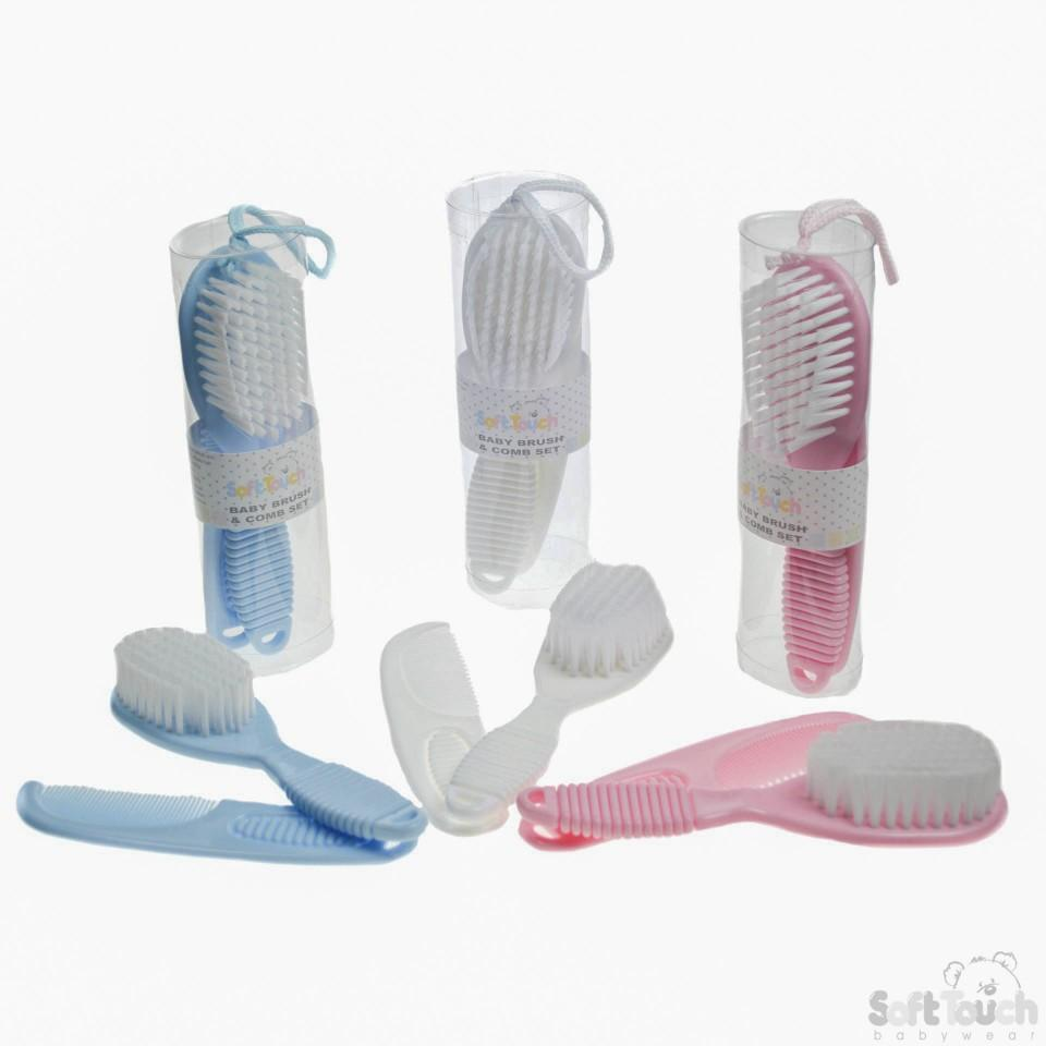 Deluxe Baby Brush & Comb Set: P604