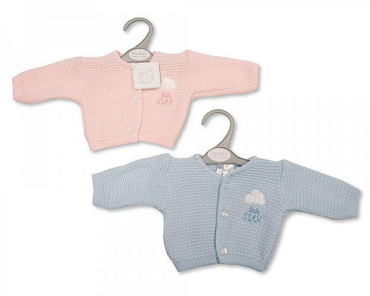 Baby Premature Knitted Cardigan - Little Star -  Pb-20-900
