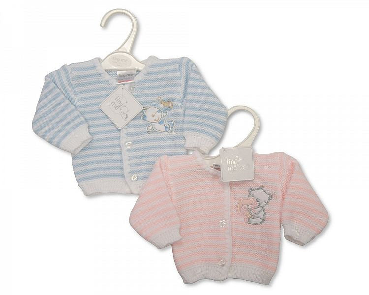 Baby Premature Knitted Cardigan - Teddy