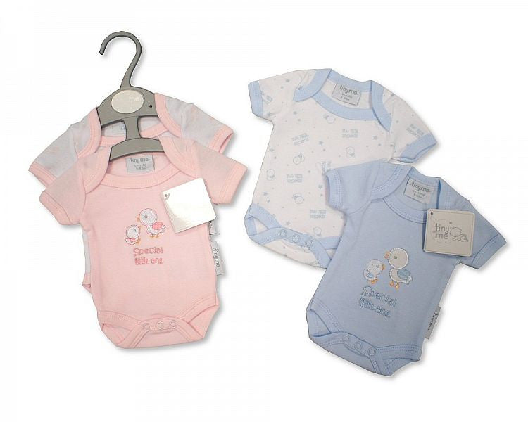 Premature Baby Short Sleeved Bodyvest 2 Pack- Special Little One