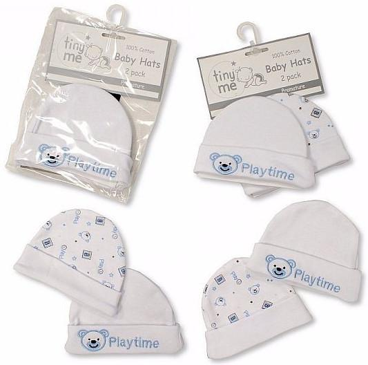 Premature Baby Hats 2-Packs - Playtime - Boys