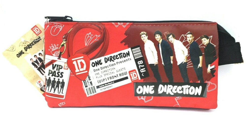 1D ONE DIRECTION STATIONERY School Set - Large Single Pencil Case (One4-6038)