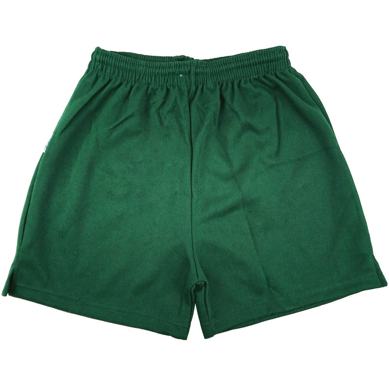 Green - Clearance School Mesh Shorts - P.E/Sports - 3-XXL - Kidswholesale.co.uk