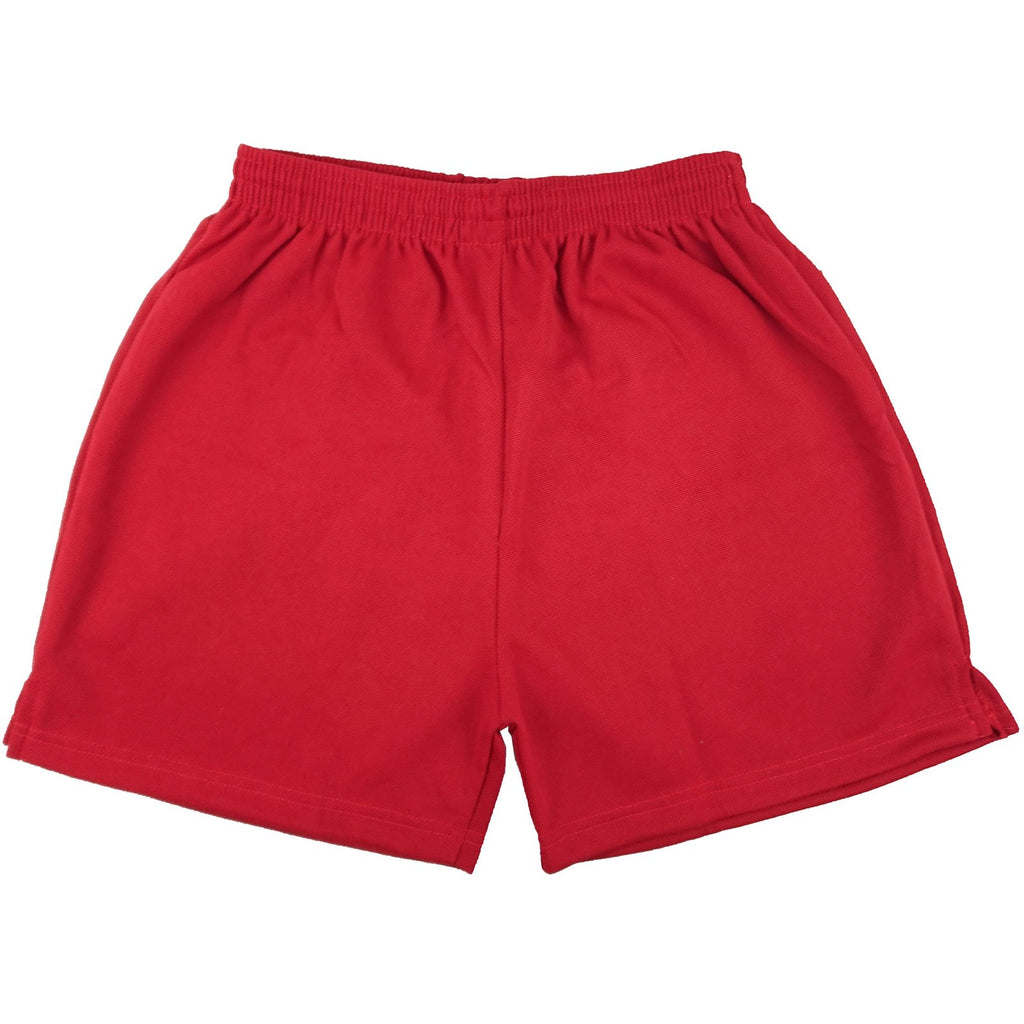 Red - Clearance School Mesh Shorts - P.E/Sports - 7-XXL