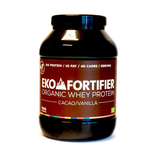 Eko Fortifier - Organic Whey Protein Cacao/Vanilla