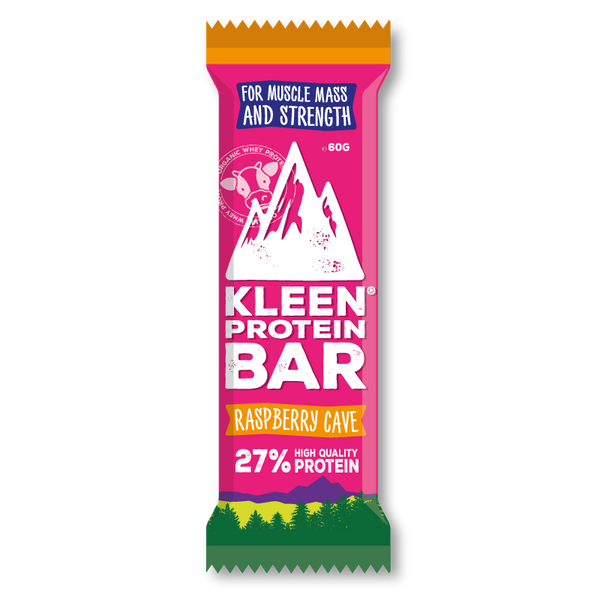 KLEEN® Performance PROTEIN - Raspberry Cave