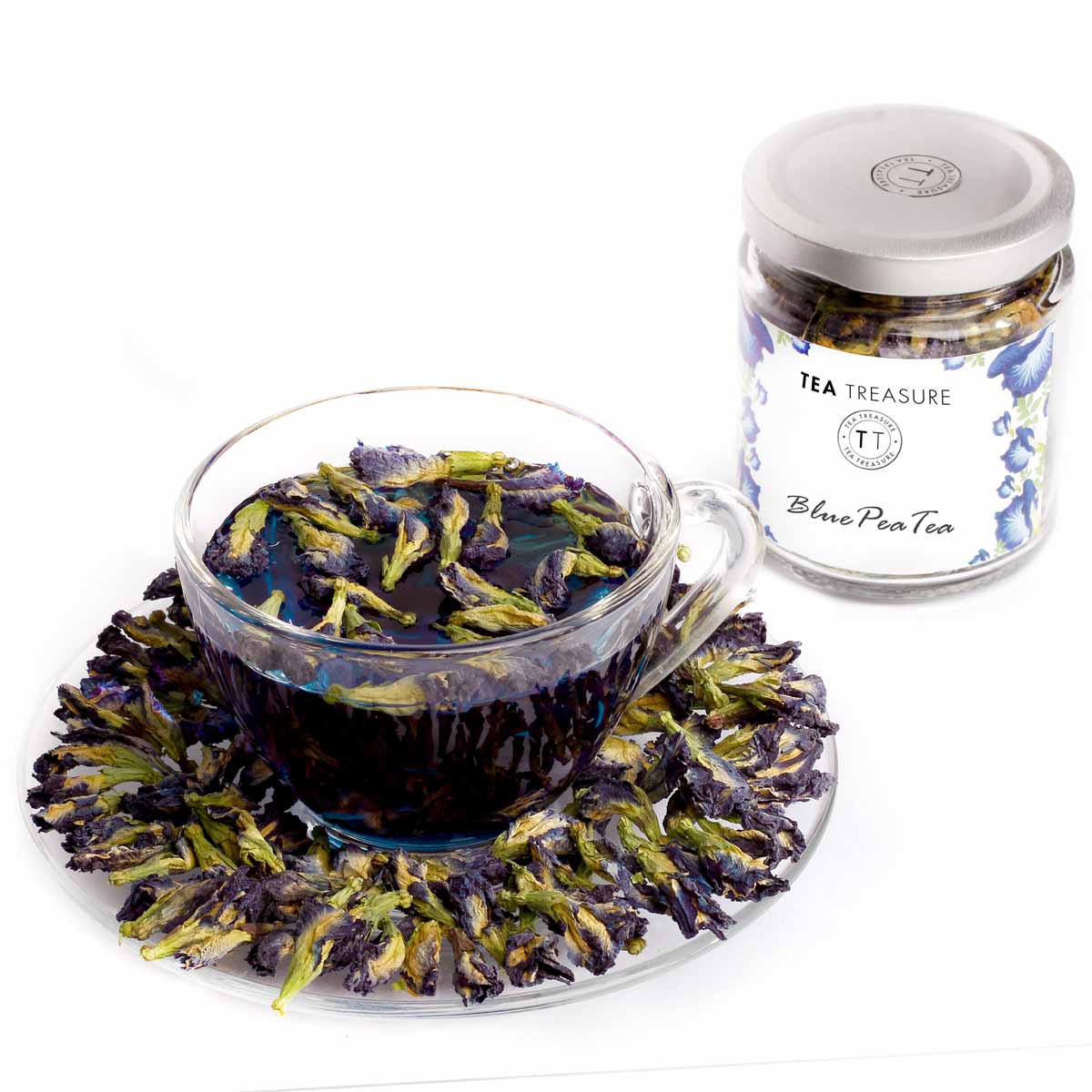 Butterfly Blue Pea Flower Tea