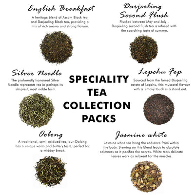 Speciality Tea Pyramid Tea Bags Collection - an Assorted Sampler Gift Box