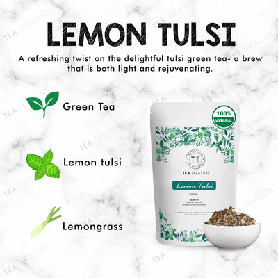 Lemon tulsi Green Tea