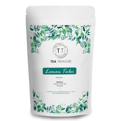 Lemon tulsi Green Tea - 100Gm