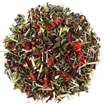 Tropical Hibiscus Green Tea
