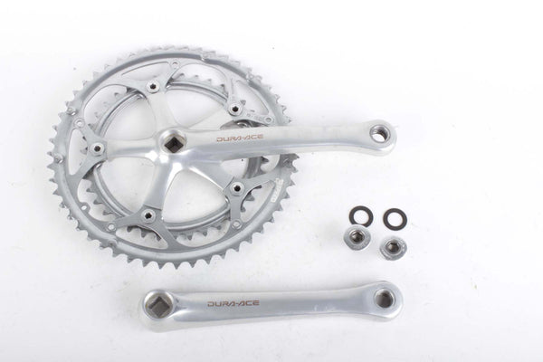 Shimano Dura-Ace #FC-7410 crankset with chainrings 39/52 teeth in 172,5mm length from 1992