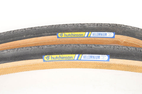 NEW Hutchinson Velomnium Tubular Tires 700c x 27mm from the 1980s NOS