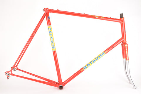 Batavus Professional frame in 63 cm (c-t) 61.5 cm (c-c) with Reynolds 753 tubing
