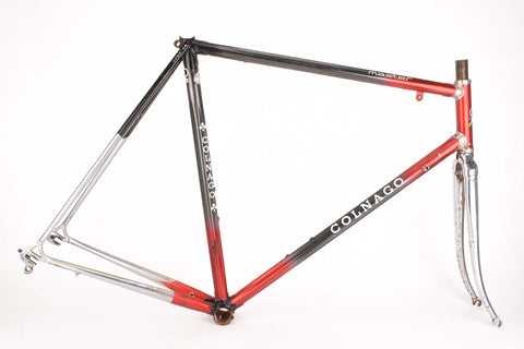 Colnago Master frame in 58 cm (c-t) / 56.5 cm (c-c) with Columbus tubes (for restoration)