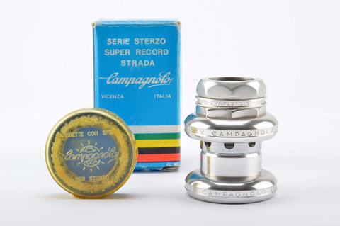 NEW Campagnolo #4041 Super Record Strada Headset with french threading from the 70-80s NOS/NIB