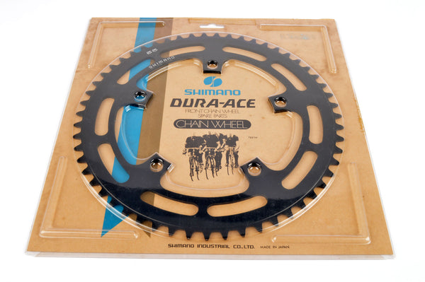 NEW Shimano Dura Ace 1st Generation Chainring with 55 teeth and 130 BCD from the 1970s NOS/NIB