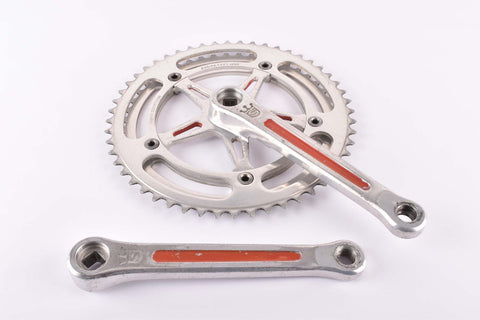 Sugino Mighty Competition Crankset with 47/52 teeth and 171mm length from 1975