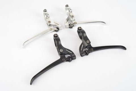 Tektro #FL-750 brake lever set for flat bars in silver or black