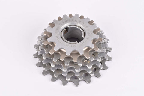 Campagnolo Super Record 7 speed Aluminium/Steel Freewheel with 12-21 teeth and italian thead from the 1980s