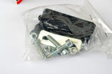 NEW Elite 9117 Eclipse plastic toe clip set from the 80s NOS/NIB