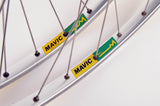 Wheel Set Mavic MA2 clincher rims with Suntour Cyclone 7000 hubs from the 1980s