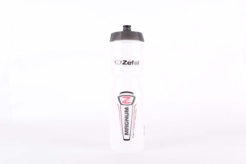 Zefal Magnum water bottle, transparent, 1L