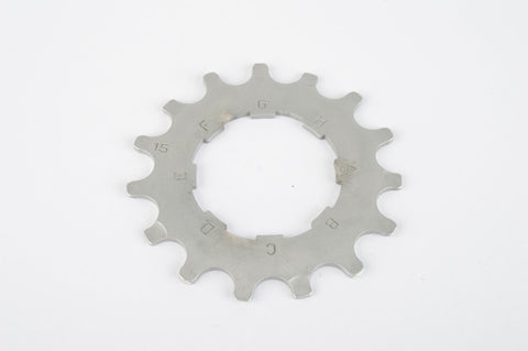 NEW Campagnolo Record #CS-8AL light alloy Sprocket with 15 teeth from the 1990s NOS