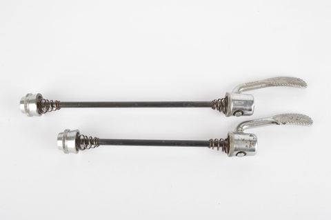 Campagnolo quick release set, front and rear Skewer