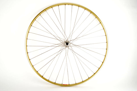 "28"" Front Wheel with Mavic OR10 tubular Rim and Campagnolo Record 1034 Hub from 1970s"