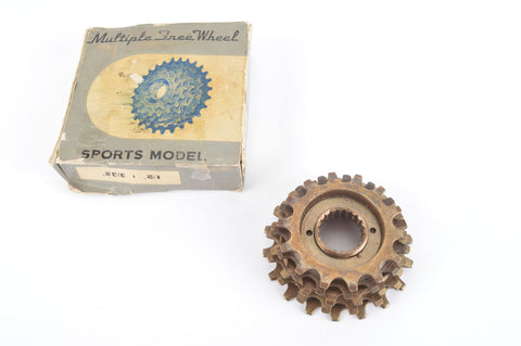 NEW Sports Model 5-speed Freewheel with 14-18 teeth from the 1980s NOS/NIB