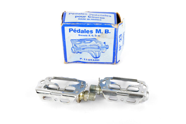 NEW Lyotard Marcel Berthet #M23 Pedals with english threading from the 1940s - 80s NOS/NIB