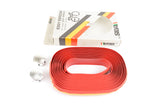 NEW Silva darkred Eddy Merckx handlebar tape from the 1980s NOS/NIB