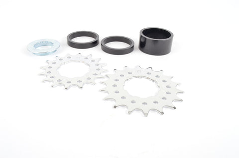Contec Ad-One Singlespeed kit with 16/18 teeth cogs and 3 spacers