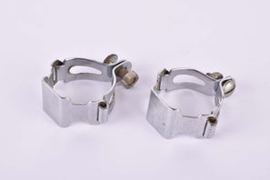 Steel Water Bottle Cage Clamps (2 pcs) from the 1970s - 80s