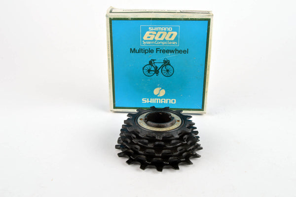 NEW Shimano 600 6-speed UG freewheel, 13-18, from the 1980s NOS/NIB
