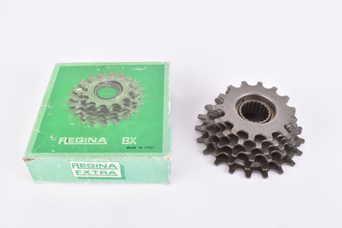 NOS/NIB Regina Extra-BX 6-speed Freewheel with 14-21 teeth and BSA/ISO threading from the 1980s