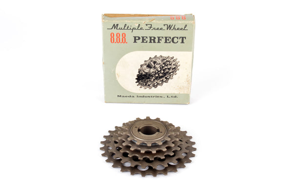 NEW Suntour Perfect 5-speed Freewheel with 14-28 teeth from 1973 NOS/NIB