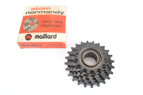 NEW Maillard Helicomatic 6-speed Freewheel with 14-24 teeth from the 1980s NOS/NIB