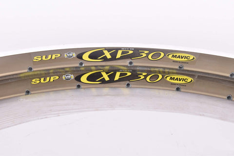 NOS Mavic CXP 30 clincher rimset (2rims) 700c/622mm with 36 holes from the 1990s