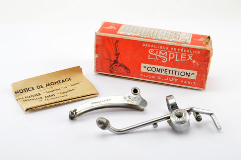 NEW Simplex Competition clamp-on front derailleur from the 1950s NOS NIB