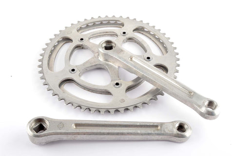 Zeus Criterium crankset with 48/52 teeth and 170 length from the 1970s
