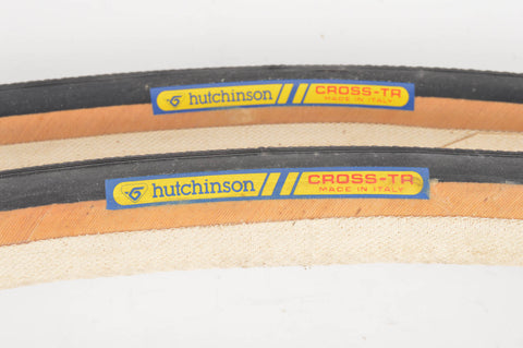 NEW Hutchinson Cross TR Tubular Tires 700c x 27mm from the 1980s NOS