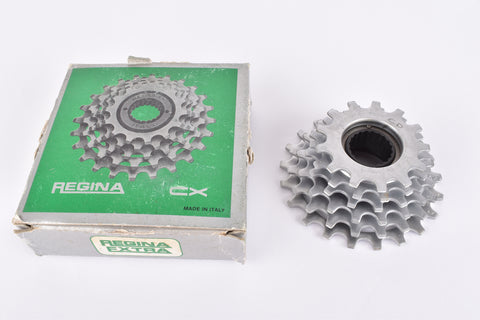 NOS/NIB Regina CX 6-speed Freewheel with 13-21 teeth and french threading from the 1980s