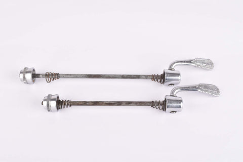 Campagnolo quick release set Victory/Chorus/Athena , front and rear Skewer from the 1980s - 90s