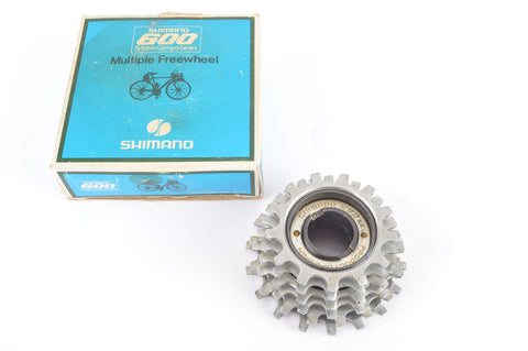 NEW Shimano 600 #MF-6151 silver 6-speed Freewheel with 13-18 teeth from the 1980s NOS/NIB
