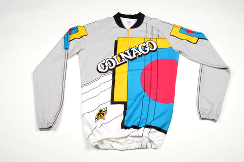 NEW Colnago long Sleeve Jersey with 3 Back Pockets in Size 4