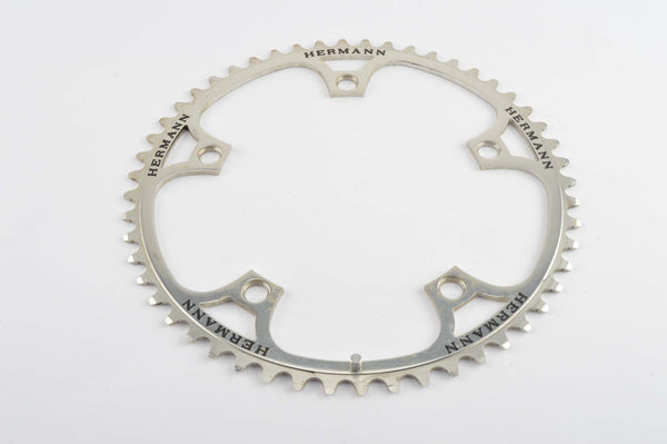 Campagnolo Super Record panto Hermann Chainring in 52 teeth and 144 BCD from the 1970s - 80s