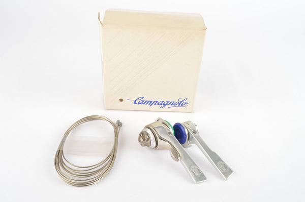 NOS/NIB Campagnolo C-Record Syncro braze-on shifters from 1987-88