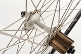 Wheelset with Wolber GTX 2 clincher rims and Shimano 105 #1055 hubs from the 1990s